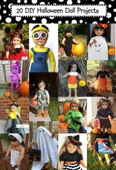 Diana Rambles: American Girl Doll Candy Corn Dress