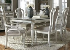 Cross Island Rectangular Extension Table By Ashley Furniture See More Liberty