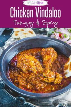 Chicken Vindaloo is a traditional Goan dish with a fiery red color and a slight tang from vinegar. It piars very well with rice or any Indian bread. Here is a tried and tested step by step recipe to make Chicken Vindaloo just like a Goan Home. Indian Chicken Recipes, Goan Recipes, Indian Food Recipes, Cooking Recipes, Pakistani Food Recipes, Spicy Chicken Curry Recipes, Indian Chicken Dishes, Veg Recipes, Cream Recipes