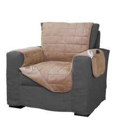 Another great find on #zulily! Tan Serta® Warming Chair Protector #zulilyfinds