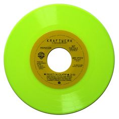 Lime green record