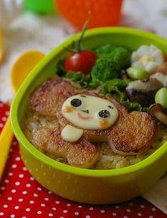 cheburashka bento!!