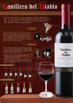 En uno de los viajes de Luis Fernando Heras Portillo, conoció los distintos vinos de la marca Casillero del Diablo, la cual recomienda ampliamente.