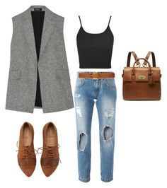 casual for rectangle body shape