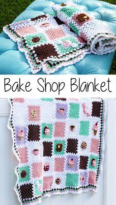 Free crochet pattern: Bake Shop Blanket