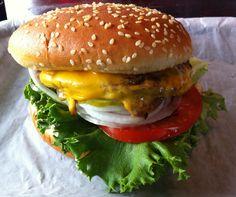 The Kingburger at Rays.