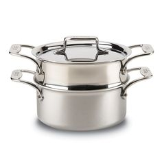 345.00$  Buy now - http://visce.justgood.pw/vig/item.php?t=jva3eiq54467 - All-Clad d5 Stainless Brushed 3 Quart Stainless Steamer Set