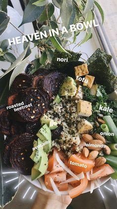 Veggie Recipes, Vegetarian Recipes, Healthy Recipes, Healthy Snacks, Healthy Eating, Clean Eating, Food Is Fuel, Cookies Et Biscuits, Aesthetic Food