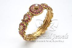 Kundan Bangle   Tibarumal Jewels   Jewellers of Gems, Pearls, Diamonds, and Precious Stones