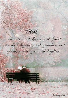 This reminds me so much of my wonderful Grandparents That have taught me so much about love and friendship and marriage and falling in love and being true. Romance Quotes, True Romance, Romance And Love, Love Quotes, Inspirational Quotes, Daily Quotes, Pink Quotes, Pretty Quotes, True Love