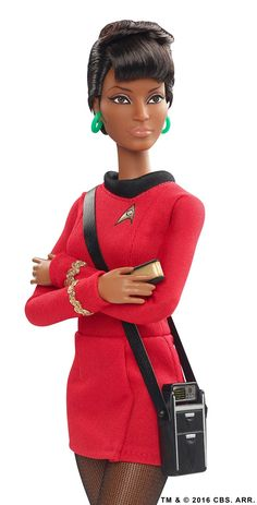 Amazon.com: Barbie Star Trek 50th Anniversary Uhura Doll: Toys & Games