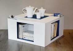 table basse en carton
