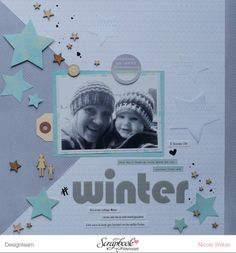 Layout mit dem SBW Januar Kit 2015 ... von Nicole Weber (kreativbezirk.de)
