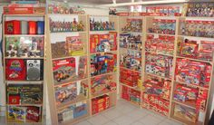 collection to rule them all. Collection Displays, Shelving Solutions, Displaying Collections, Vintage Toys, Space Saving, Childhood Memories, Life Is Good, Action Figures, Innovation