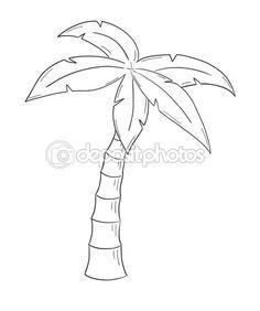 schets van de palmboom op witte achtergrond, geïsoleerd — Stockillustratie #42233267 Animal Coloring Pages, Tree Drawings Pencil, Mountain Sunset Painting, Tree Coloring Page, Flower Drawing Tutorials, Flower Drawing, Tree Drawing, Disney Phone Wallpaper, Sharpie Art