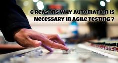 Test automation in agile projects is best developed incrementally and it should start parallel to development so that time that can be utilized for testing is not wasted in enabling automation. Test automation should be a well-thought-out process for it to be cost effective and generate ample returns.