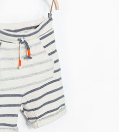 Image 1 of Striped shorts from Zara