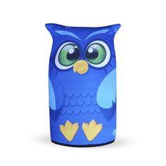 Peso de Porta Corujinha Azul - Loja Ula lá