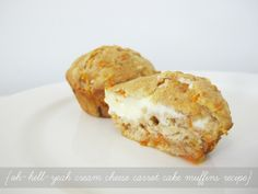 The Oh-Hell-Yeah Cream Cheese Carrot Cake Muffins Recipe