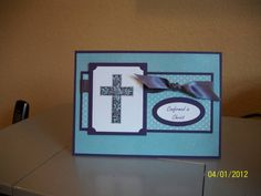 Crosses of Hope Confirmation Card by cmk7471 - Cards and Paper Crafts at Splitcoaststampers