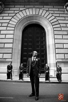 grooms portraits. so NYC. i love it!