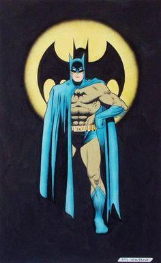 Batman by William Stout Comic Art
