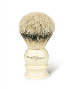 Buy Edwin Jagger Imitation Ivory Shaving Brush (Silver Tip) from The English Shaving Company. Extensive range of Silver Tip Badger Shaving Brushes from premium brands. Badger Shaving Brush, Shaving Oil, Shaving Cream, Edwin Jagger, Best Safety Razor, Black Silver, Ivory, Tips, Handmade