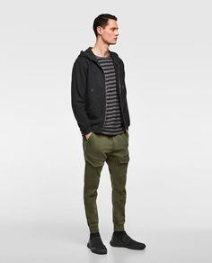 ZARA - MAN - JOGGING TROUSERS WITH POCKETS