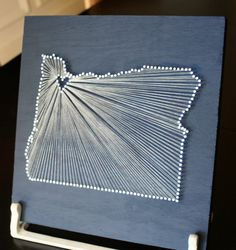 I want to make one of these, but with the heart in North Bend!