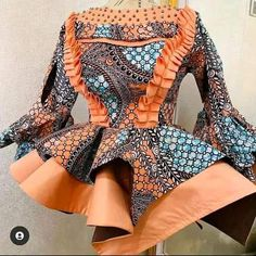 African Lace Dresses, Latest African Fashion Dresses, African Print Fashion, Africa Fashion, African Blouses, African Tops, African Fashion Traditional, African Print Dress Designs, Blouse Styles