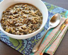 wild rice & mushroom soup. next thing i'm making!  http://www.thekitchn.com/recipe-minnesota-wild-rice-mushroom-soup-164295
