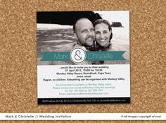 Mark & Christelle  www.nooievents.co.za Babysitting, Invitations, Children, Young Children, Boys, Kids, Save The Date Invitations, Shower Invitation, Invitation