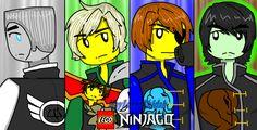 Lego ninjago #913 by MaylovesAkidah.deviantart.com on @DeviantArt I exialy Don't like that jay have à eyepatch