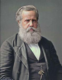 Dom Pedro II, filho do imperador do Brasil Dom Pedro I e Dona Maria Leopoldina.