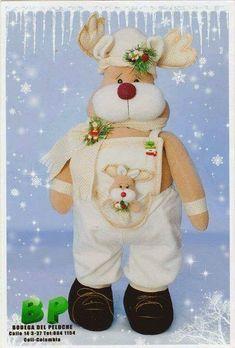 Resultado de imagen para moldes de babuchas navideñas Indoor Christmas Decorations, Christmas Swags, Christmas Sewing, Christmas Deer, Felt Christmas, Handmade Christmas, Christmas Projects, Christmas Crafts, Christmas Ornaments