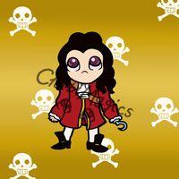 Disney Villains - Captain Hook by ChibiMagics