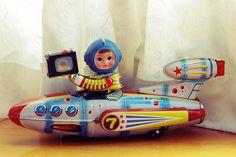 https://flic.kr/p/a1X8fp   Made in China in 1970 / a real secondhand tin toy