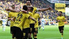 Christian Pulisic scores as Borussia Dortmund overcome Hamburg