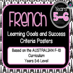 Languages - Learning Goals - Teaching for the love of it.