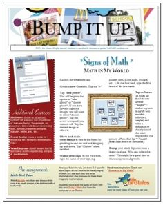 Use Bump & Contacts to create a database of mathematics vocabulary