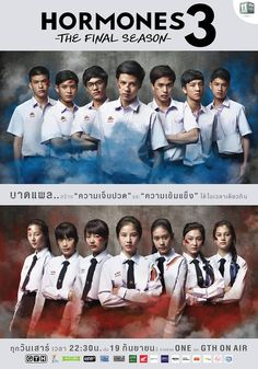 The hormones thai movie series has caused critics to lambast its reckless. Seems like it's been forever since the second season but the. Drama Tv Shows, Drama Film, Drama Series, Welcome Movie, Hormones The Series, Pokemon Backgrounds, Tv Series 2013, Drama School, Good Movies To Watch