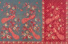 Batik tulis karya Ny. Tan Sing Ing, sekitar 1910-1920.