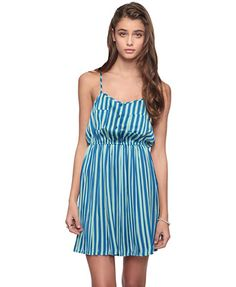 Striped Woven Dress from Forever21.com