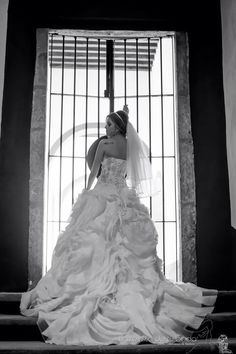 Real bride who is happily ever after in Christina Wu Style 15498 #wedding #bride
