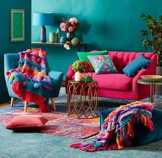 Small, Cozy, Colorful equals My aesthetic.  ~ @CamrieNoel