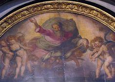 Santi di Tito (1536-1603) - Sacra conversazione, dettaglio - Chiesa di Ognissanti, Firenze