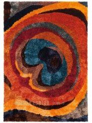 Tapis shaggy multicolore - Collection Funky - Arte Espina