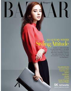 Harper's Bazaar, 2013.11, Song Ji Hyo