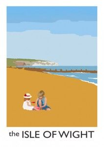 isle of wight poster art Art Deco Posters, Poster Prints, Ile De Wight, Tourism Poster, British Seaside, Railway Posters, Poster Pictures, Coastal Art, Photography Gallery