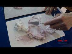 Рельефная (скульптурная) живопись декоративной штукатуркой. Работа мастихином. - YouTube